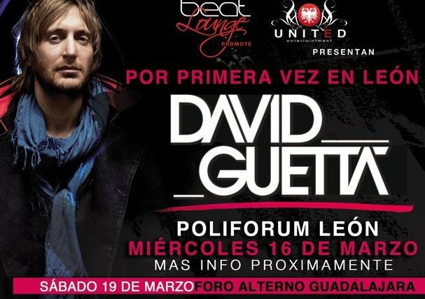 TOUR DAVID GUETTA MEXICO 2011