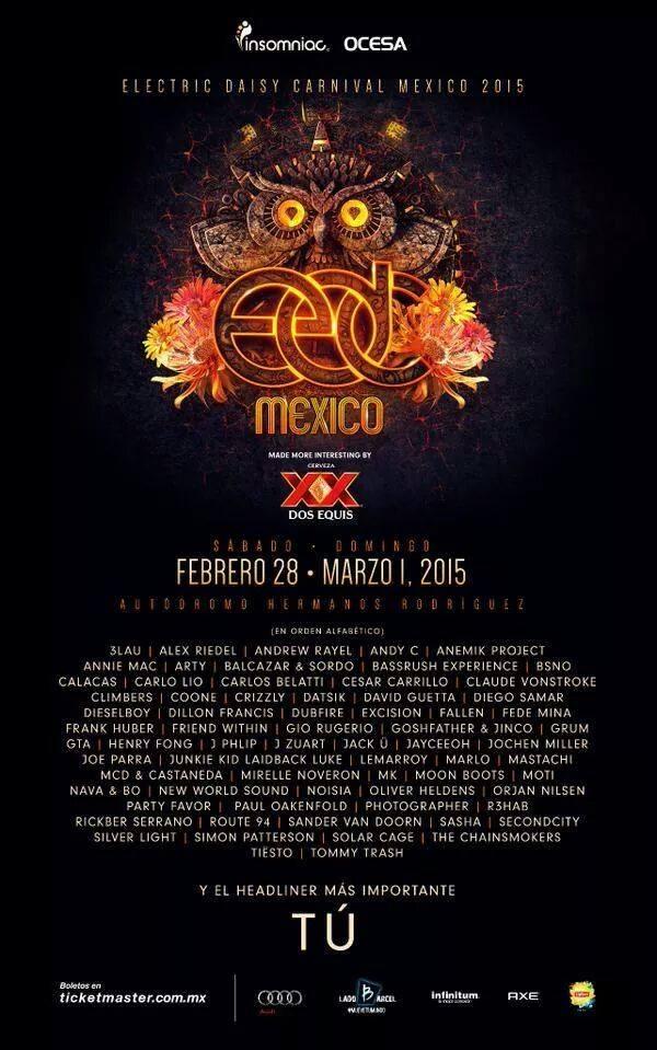 EDC 2015 Tour