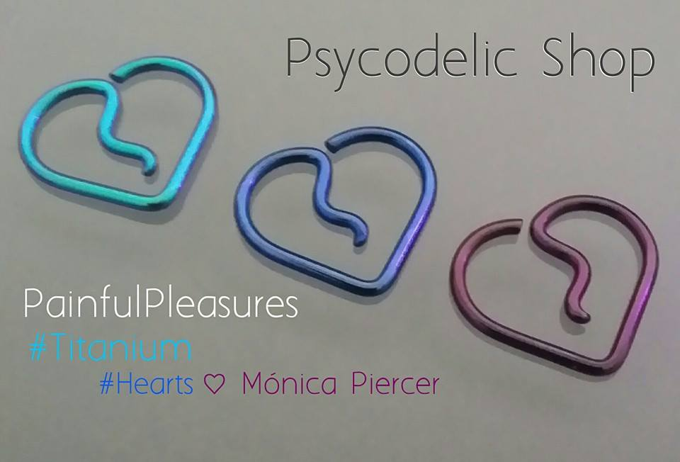 Joyería Body Piercing Psycodelic Shop