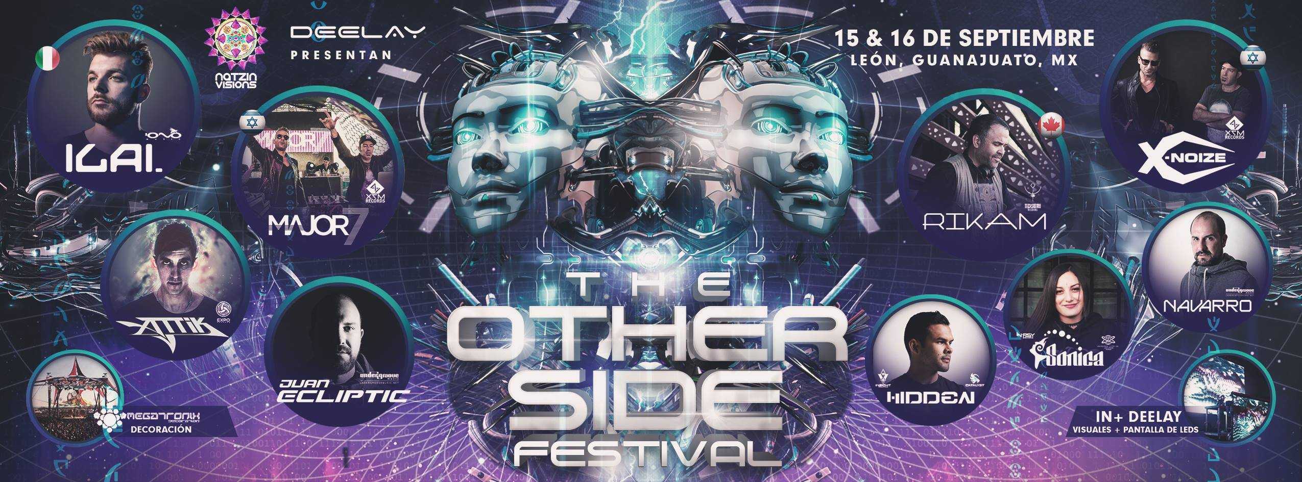 Boletos The Other Side Festival 15 Sept 2018 León Gto
