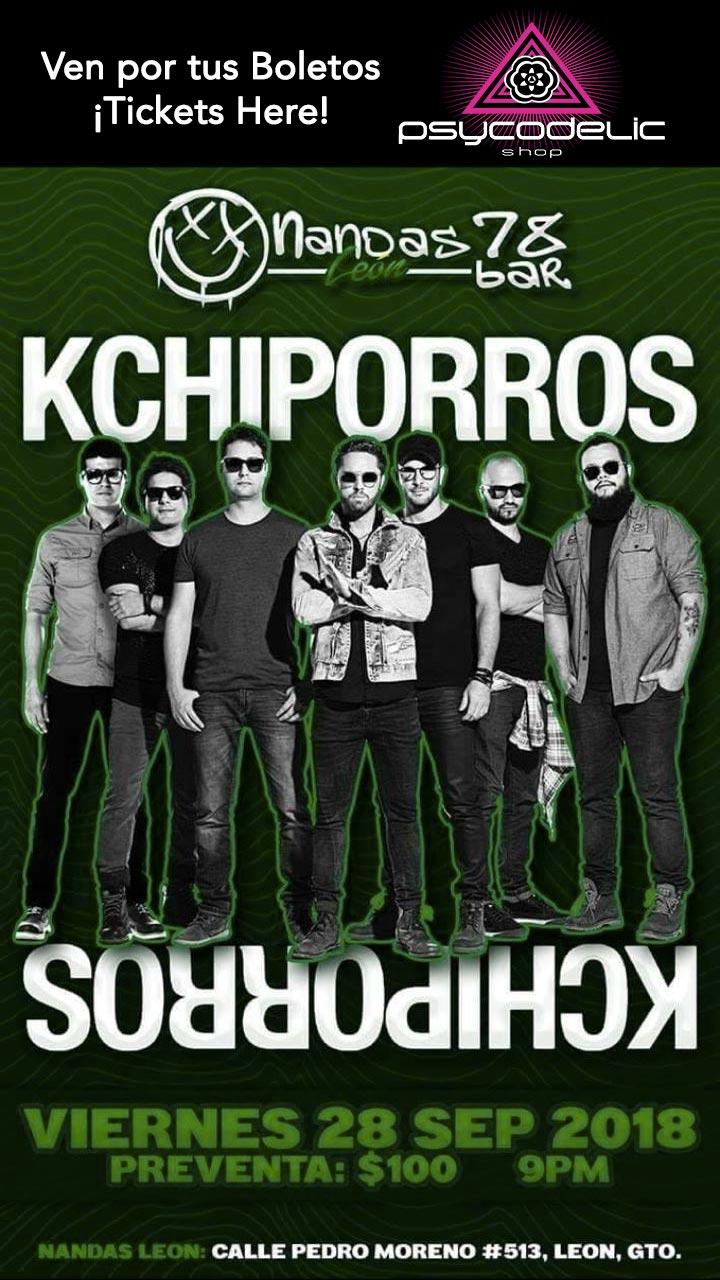 Boletos KCHIPORROS 28 de Septiembre León Gto