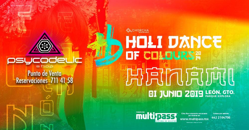 Boletos Holi Dance León Gto – 1 Junio  2019